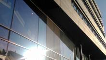 Fassade SWR-Neubau